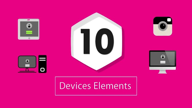 10 Devices: Stock Motion Graphics