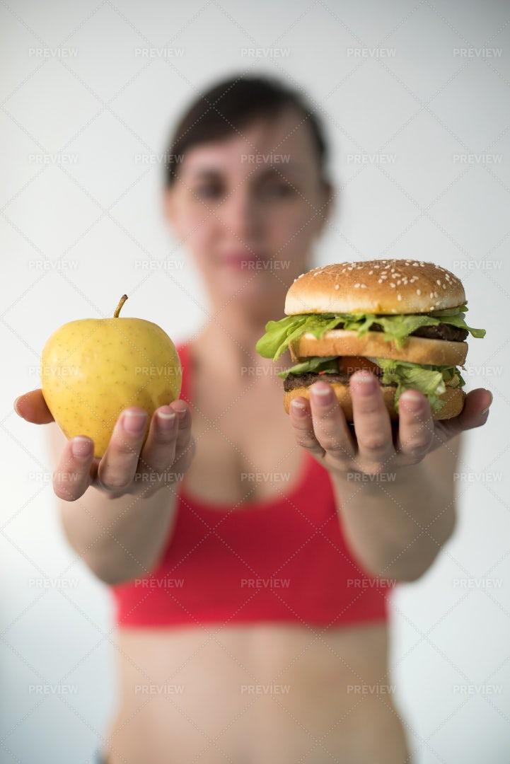 Healthy Food Choices: Stock Photos