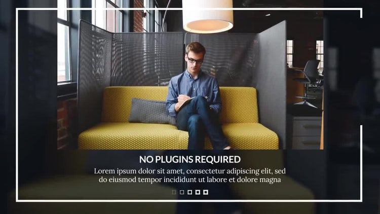 Modern Corporate: After Effects Templates