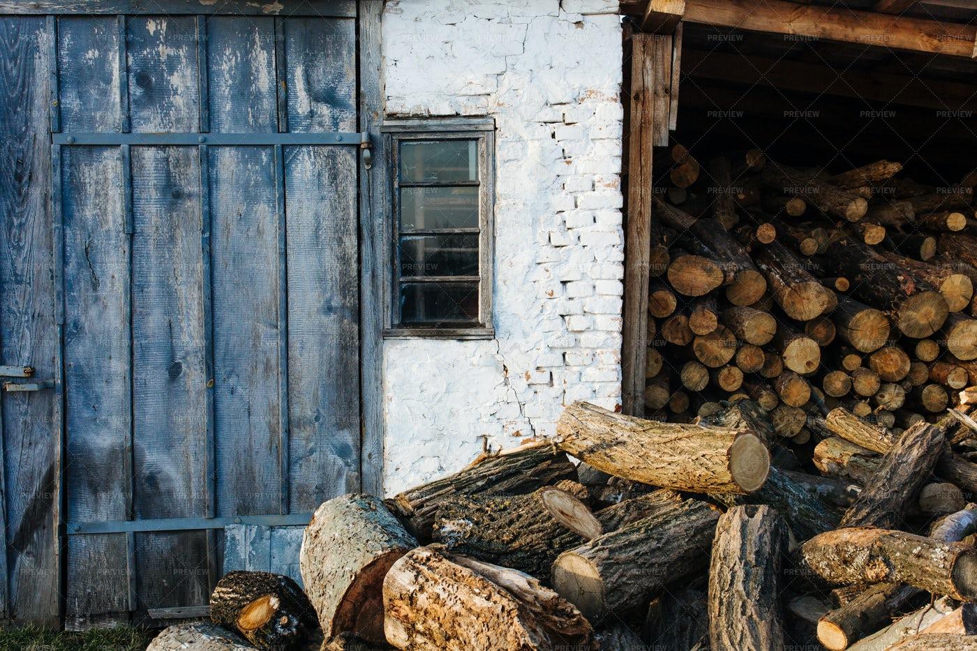 Firewood Storage: Stock Photos