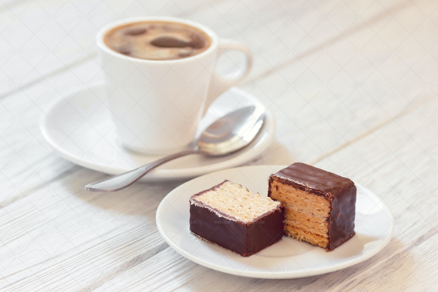 Coffee With Sweets: Stock Photos