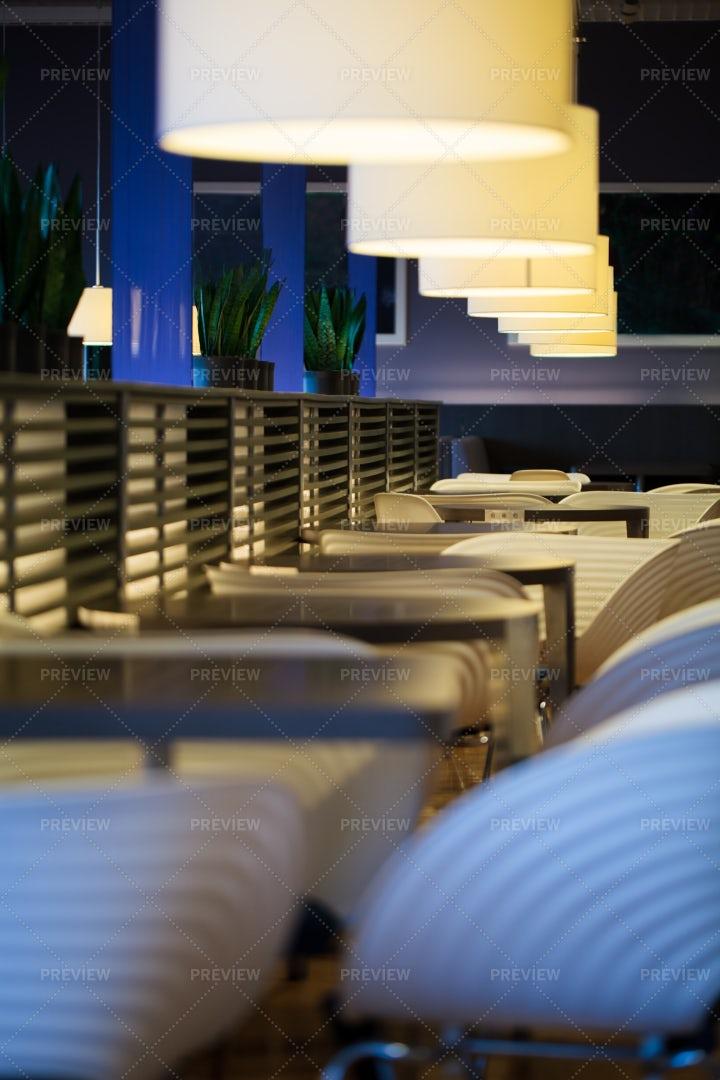 An Empty Restaurant: Stock Photos