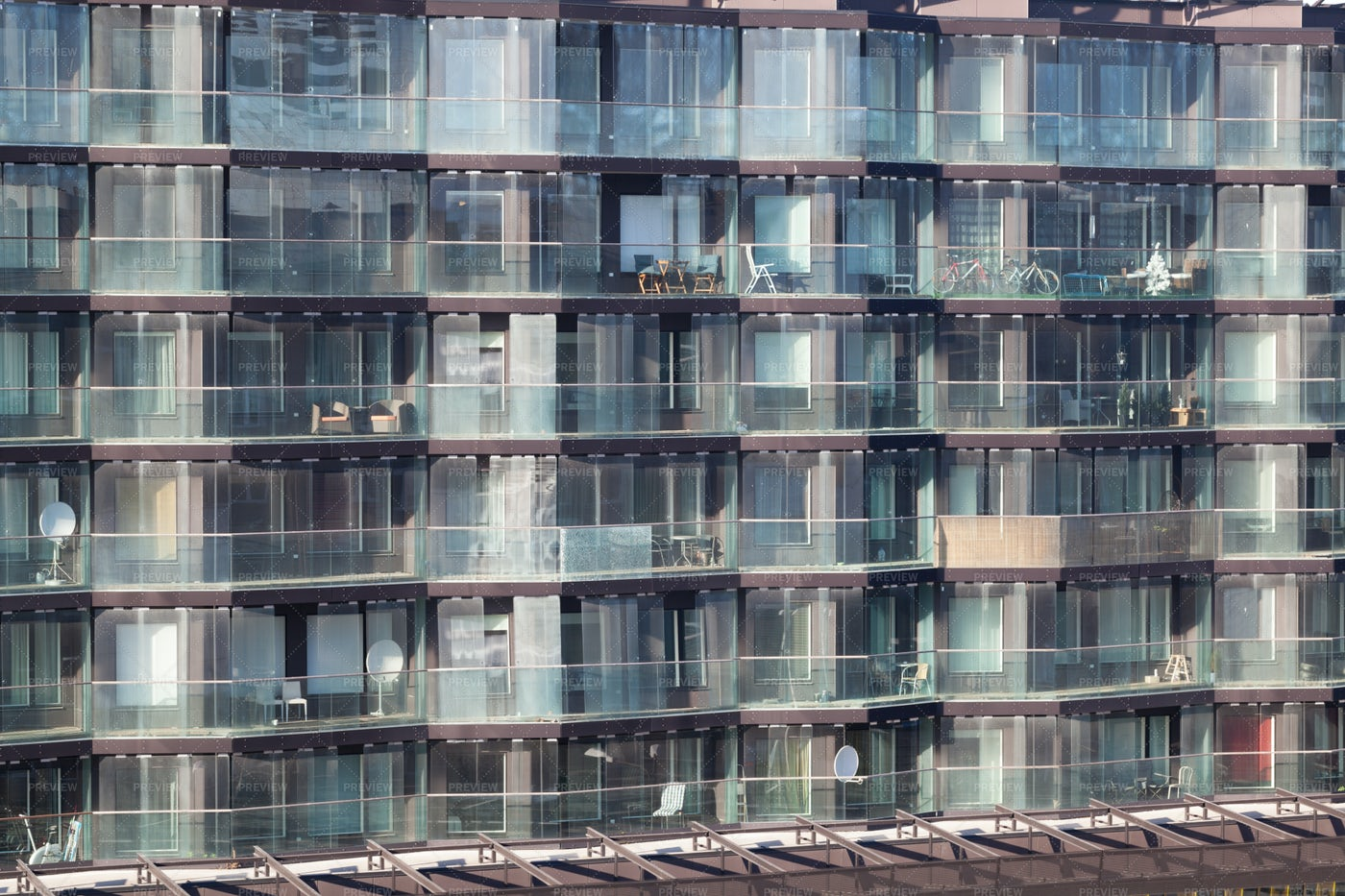 Modern Apartment Block: Stock Photos