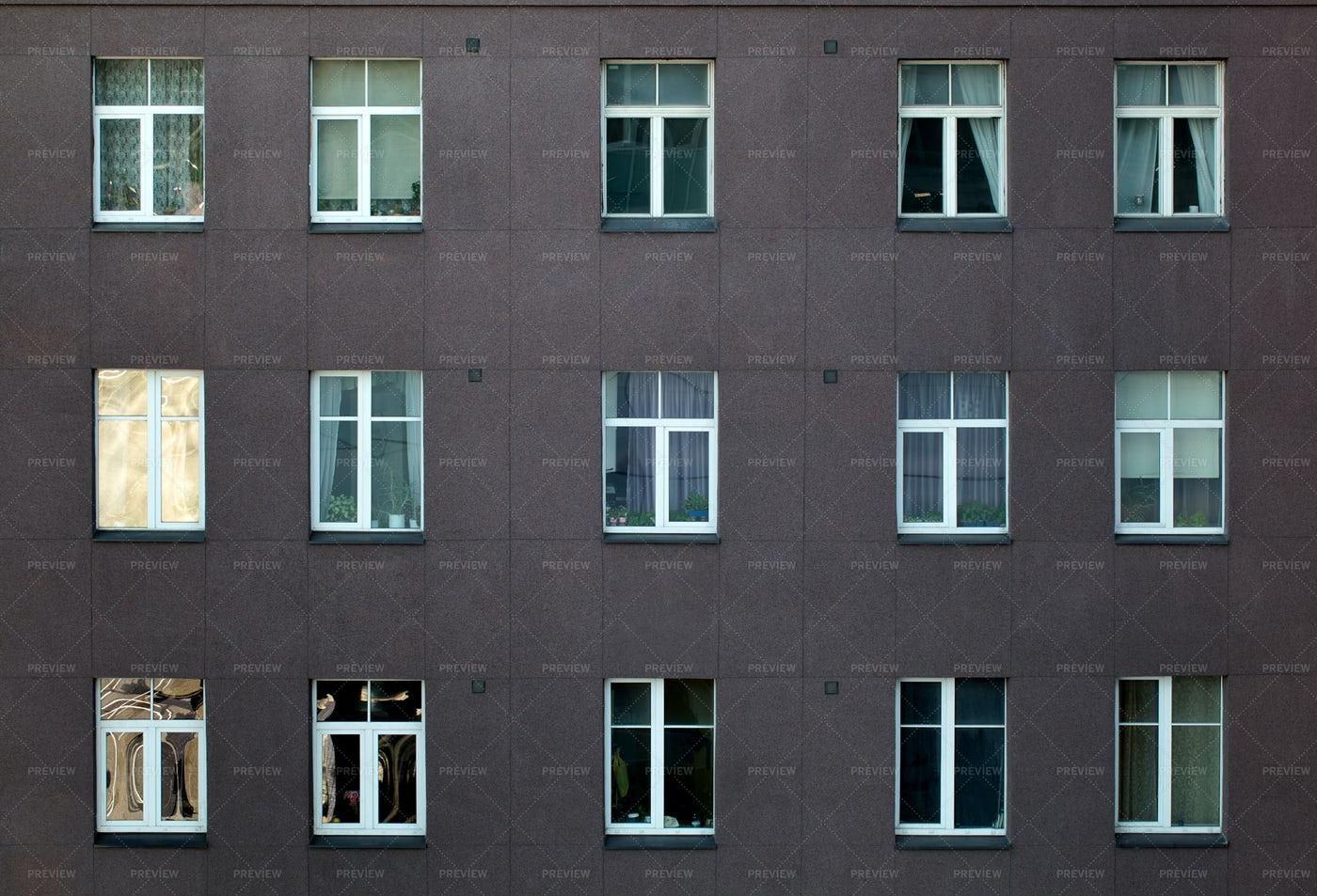 Apartment Block Exterior: Stock Photos