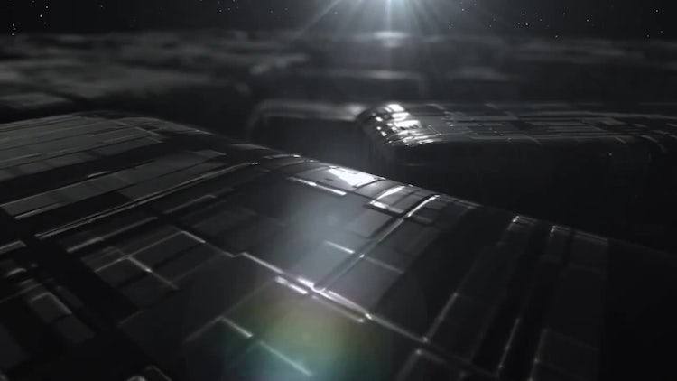 Space Cube Logo Reveal: After Effects Templates