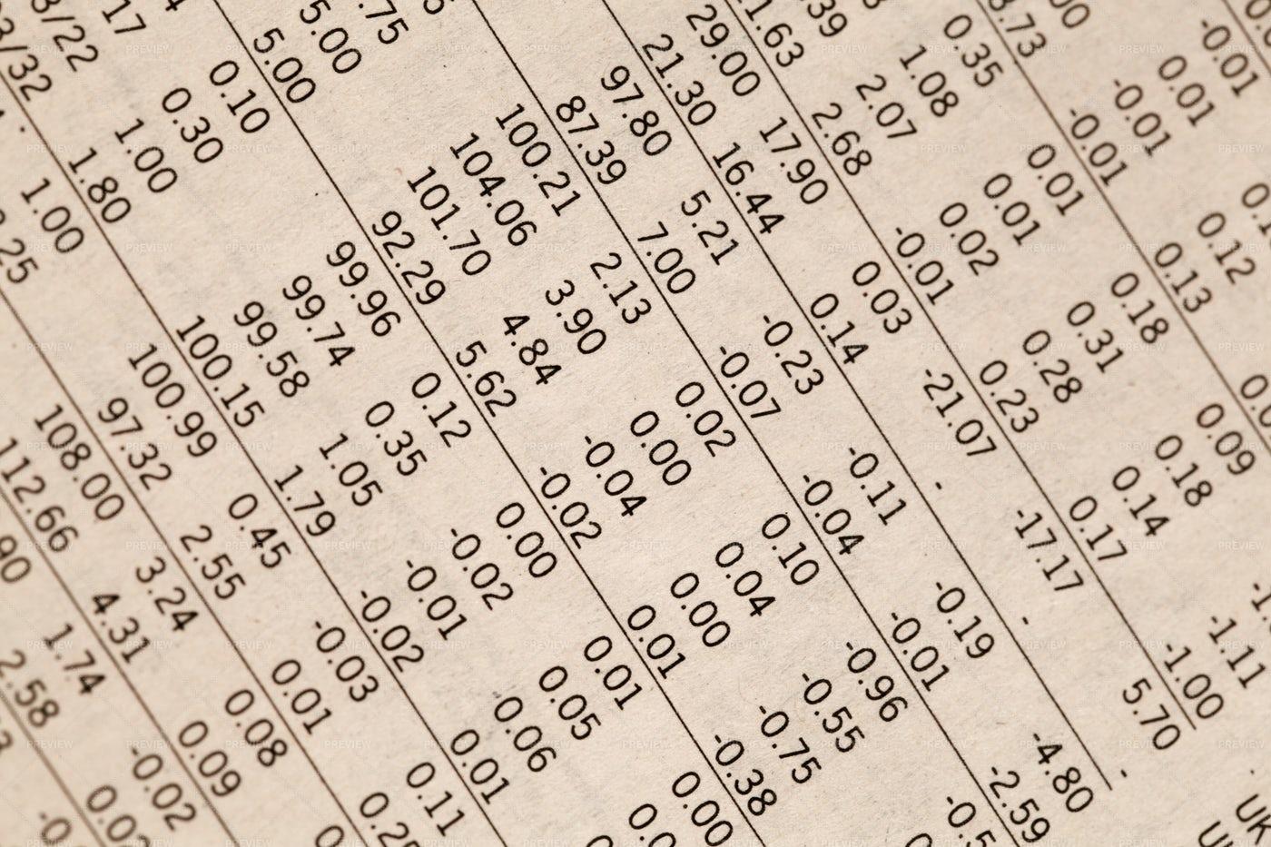 Financial Calculations: Stock Photos