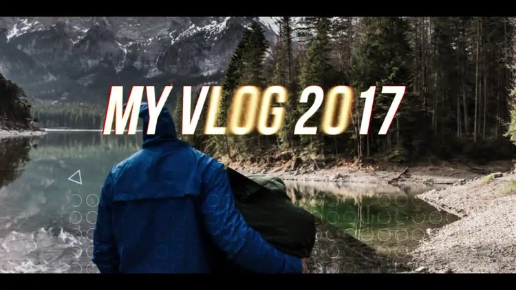 Dynamic Vlog: After Effects Templates