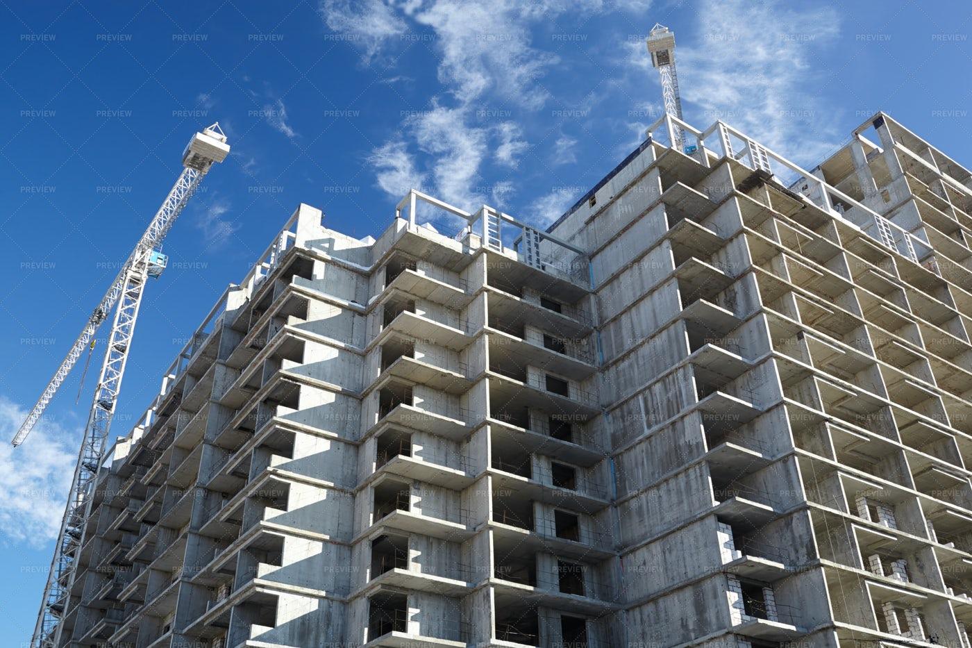 Construction Of Buildings: Stock Photos
