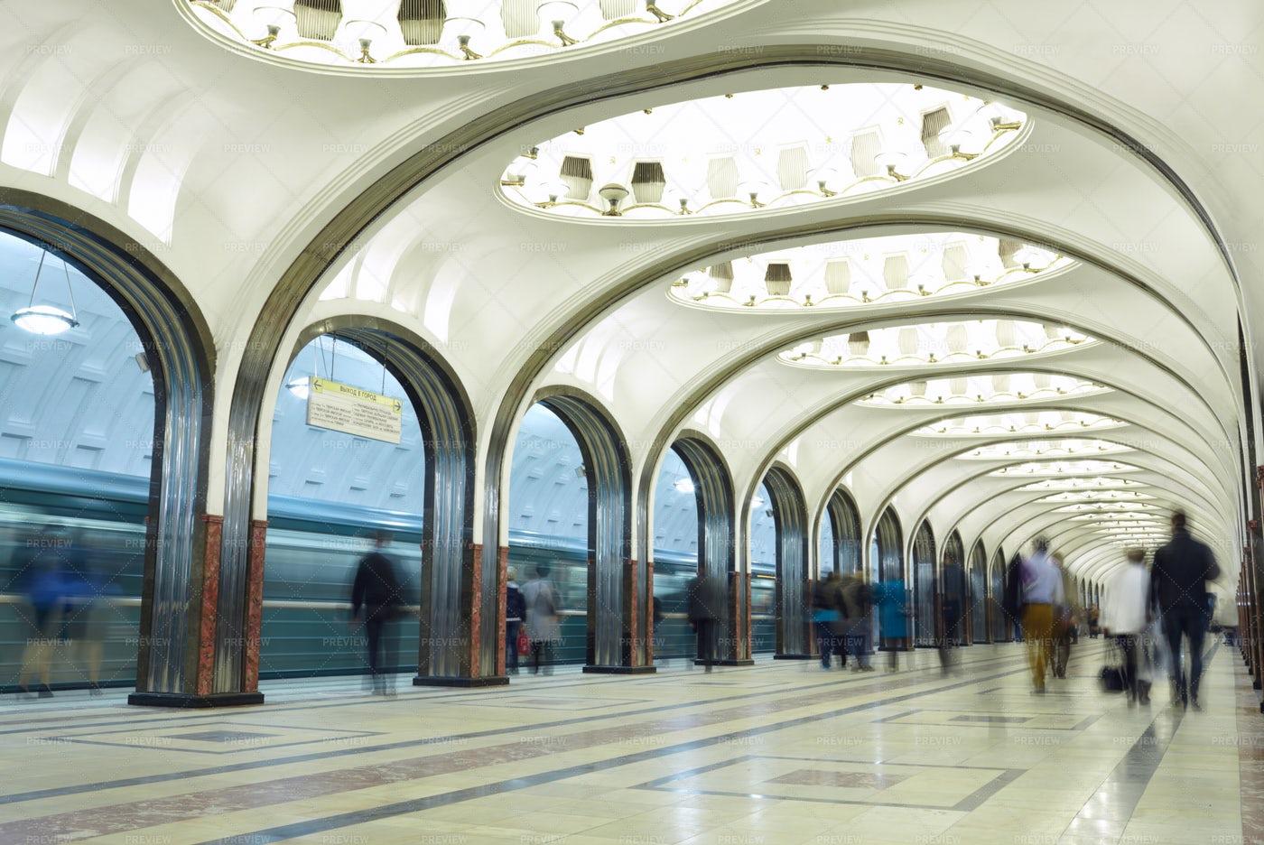Metro Station: Stock Photos