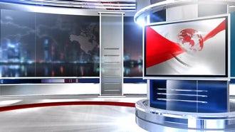 virtual set globe screen3: Motion Graphics