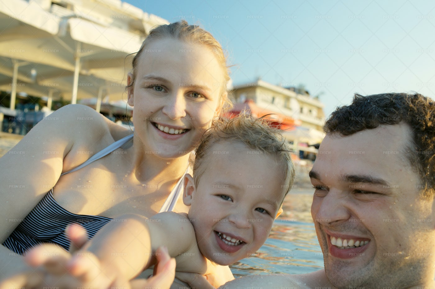 Family On Vacations: Stock Photos