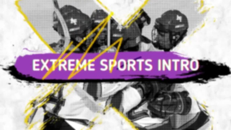 Extreme Sports Intro: After Effects Templates