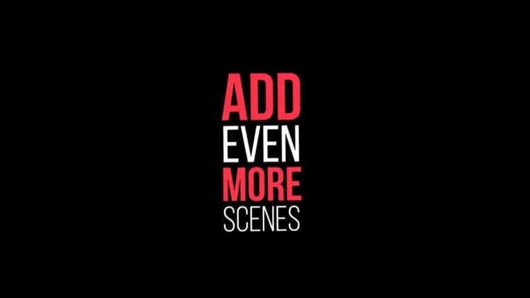 kinetic typography pack after effects templates motion array
