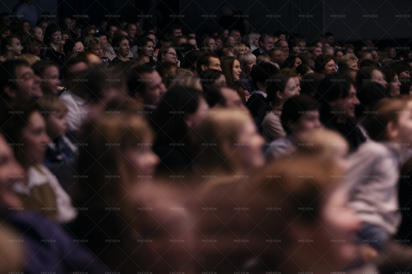 Crowded Theater: Stock Photos