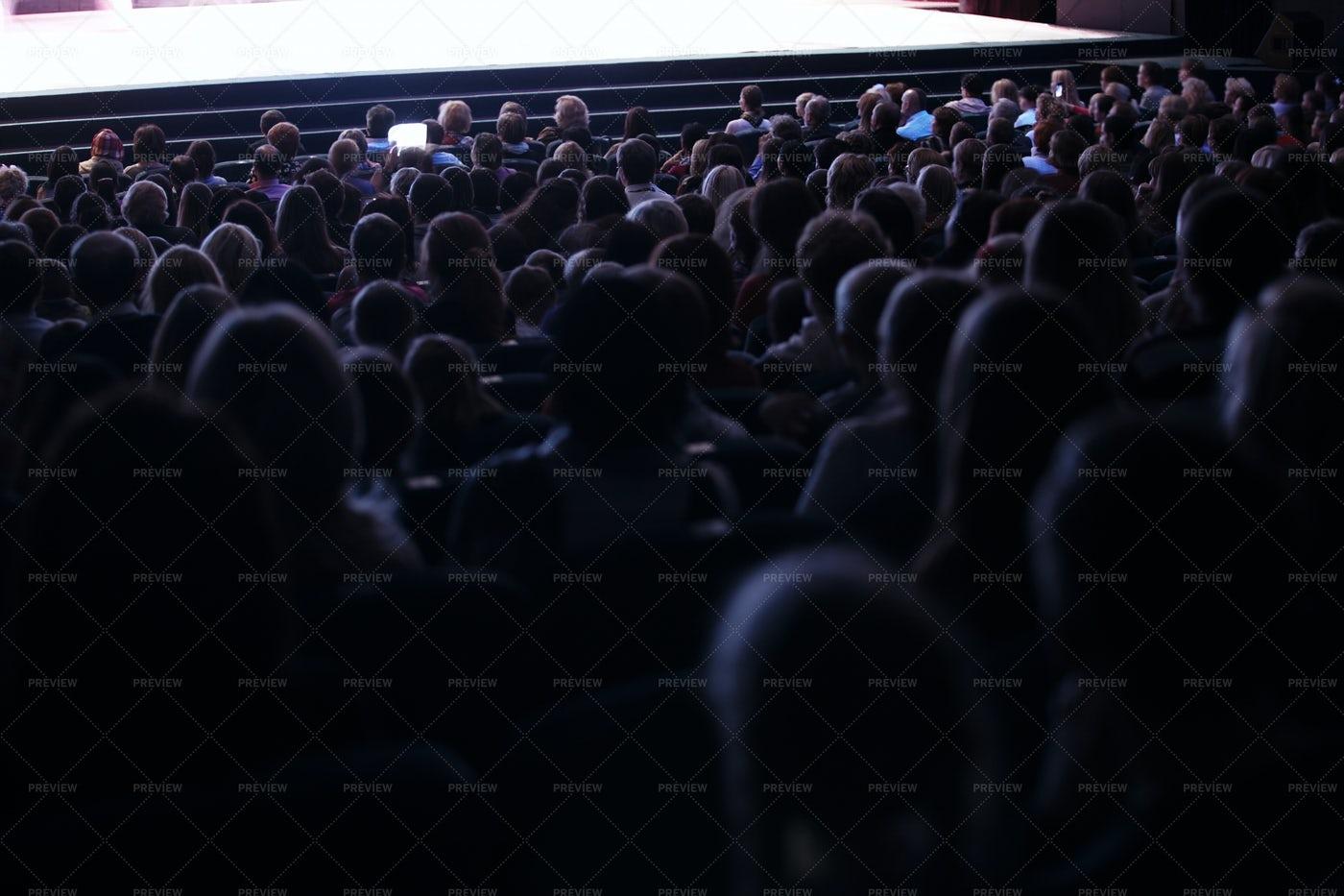 Audience Seated: Stock Photos
