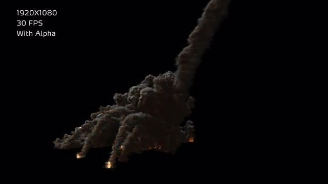 Meteor Strike Solo Ver. 03: Stock Motion Graphics