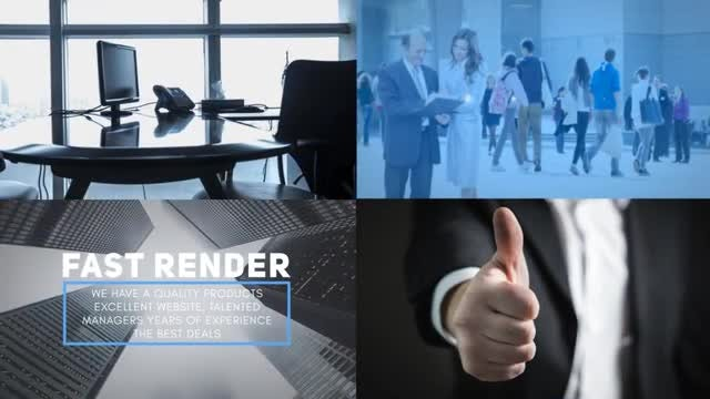 Corporate Business Promo: After Effects Templates