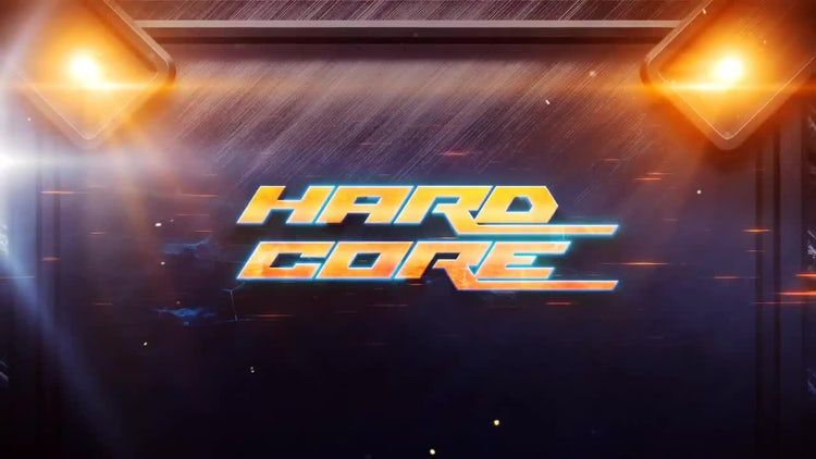 Hardcore Logo Opener: After Effects Templates