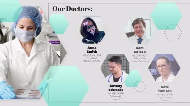 Medical Slideshow: Premiere Pro Templates