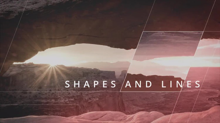 Geometrica Slideshow: After Effects Templates