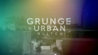 Grunge Urban Glitch: After Effects Templates