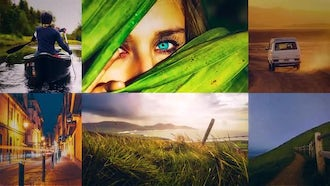 Flipping Multi Photo: After Effects Templates