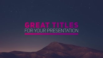 New Stylish Titles: Premiere Pro Templates