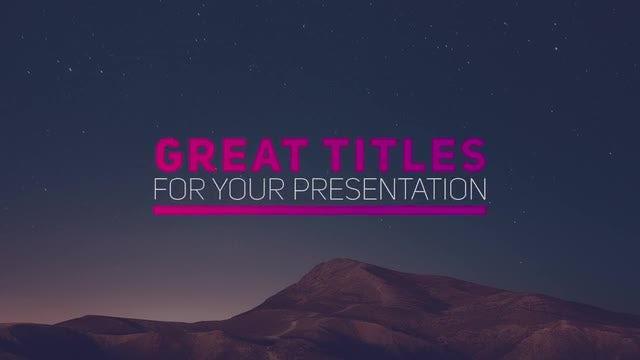New Stylish Titles: Premiere Pro Templates