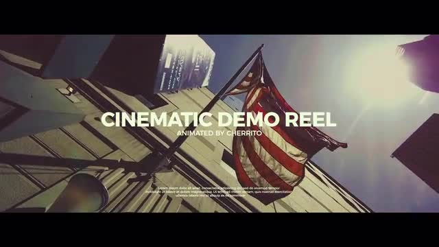 Cinematic demo reel after effects templates motion array cinematic demo reel after effects templates maxwellsz