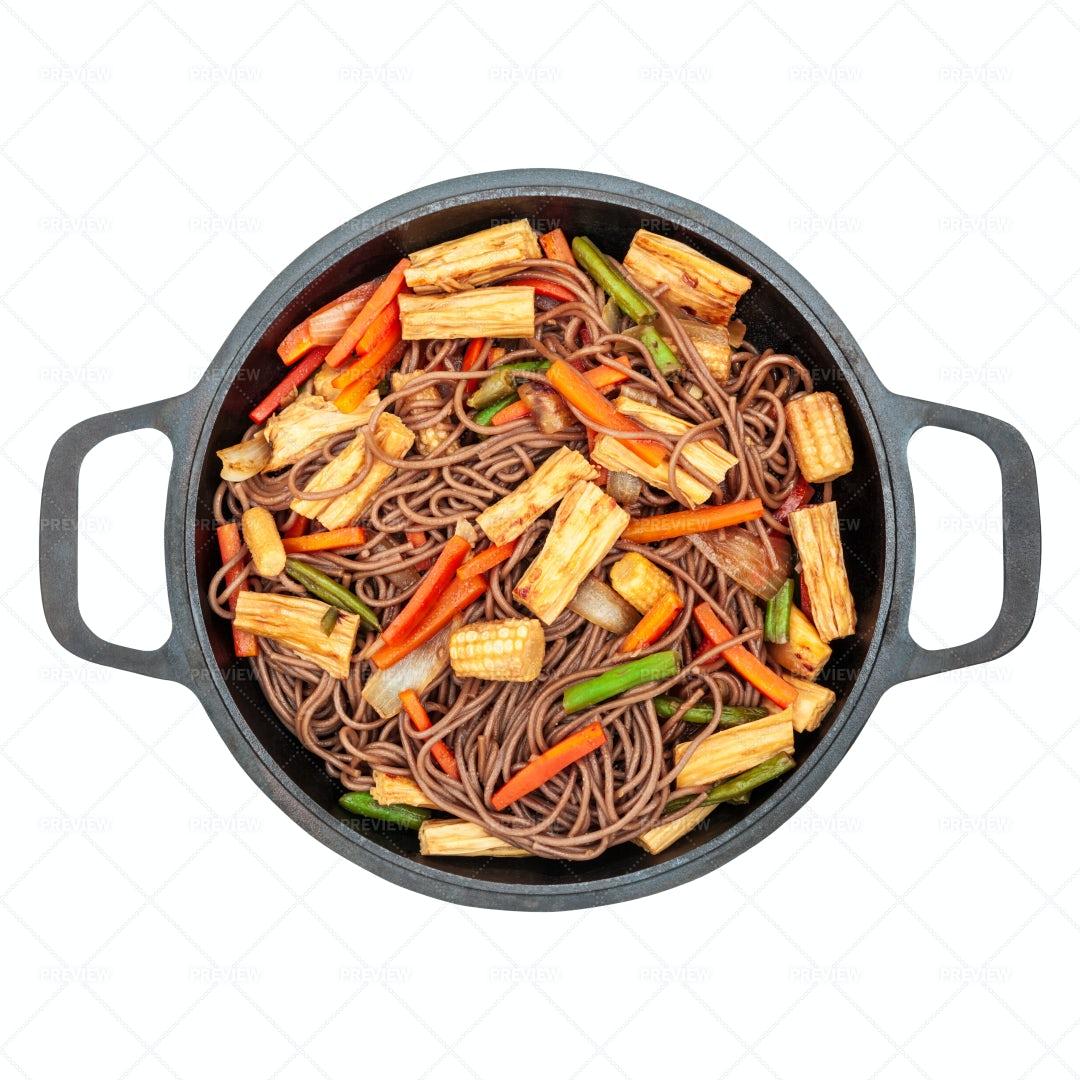 Buckwheat Noodles: Stock Photos
