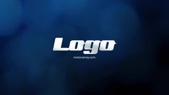 Elegant bokeh logo: After Effects Templates