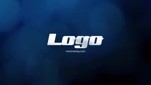 Elegant bokeh logo: After Effects Templates