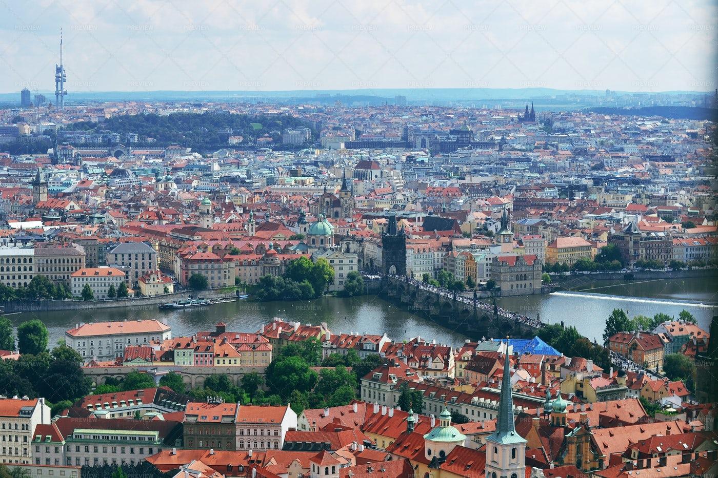 The Center Of Prague: Stock Photos