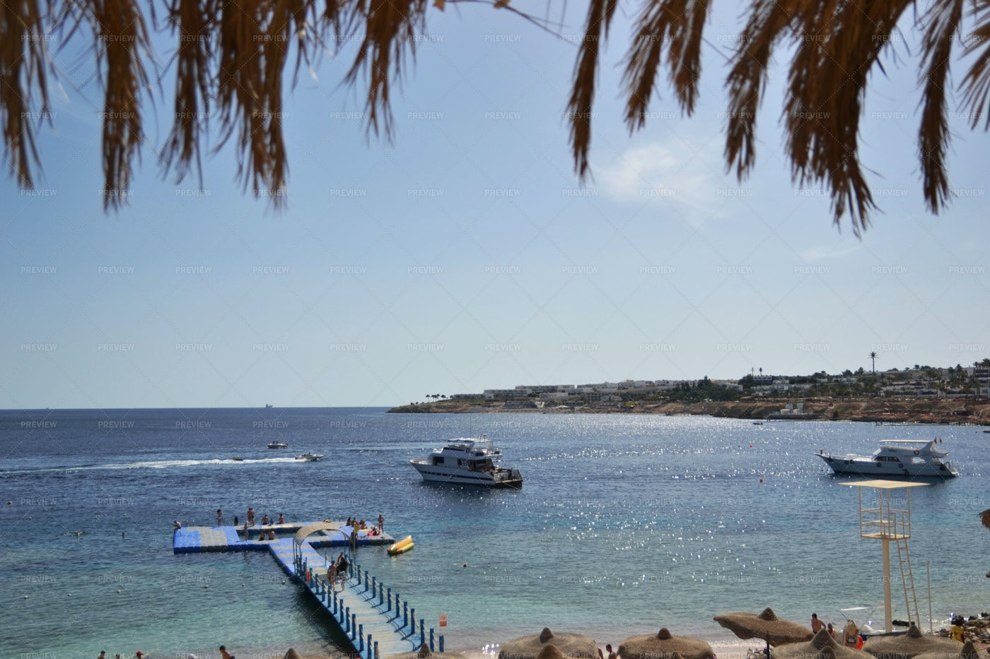 Boats On The Red Sea: Stock Photos