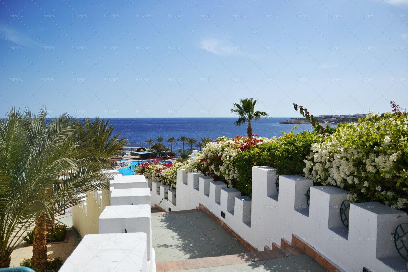 Luxury Hotel Views: Stock Photos