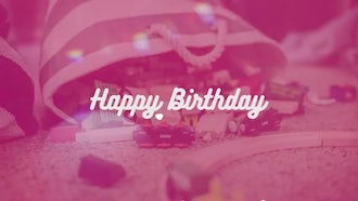 Happy Birthday Opener: Premiere Pro Templates