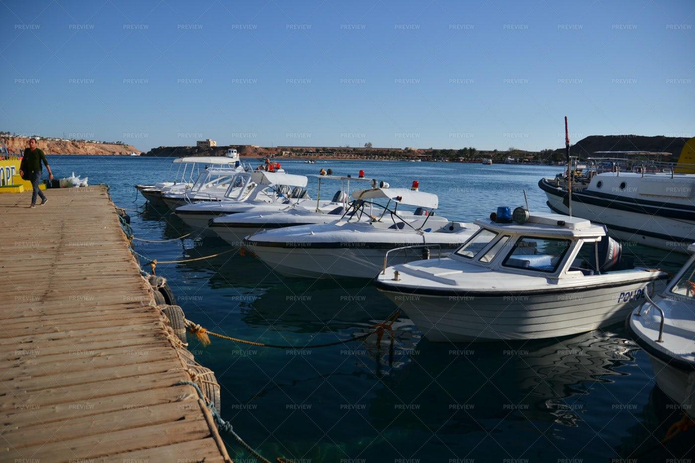 Pier Of Sharm El Sheikh: Stock Photos