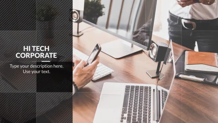Hi-Tech - Corporate: After Effects Templates