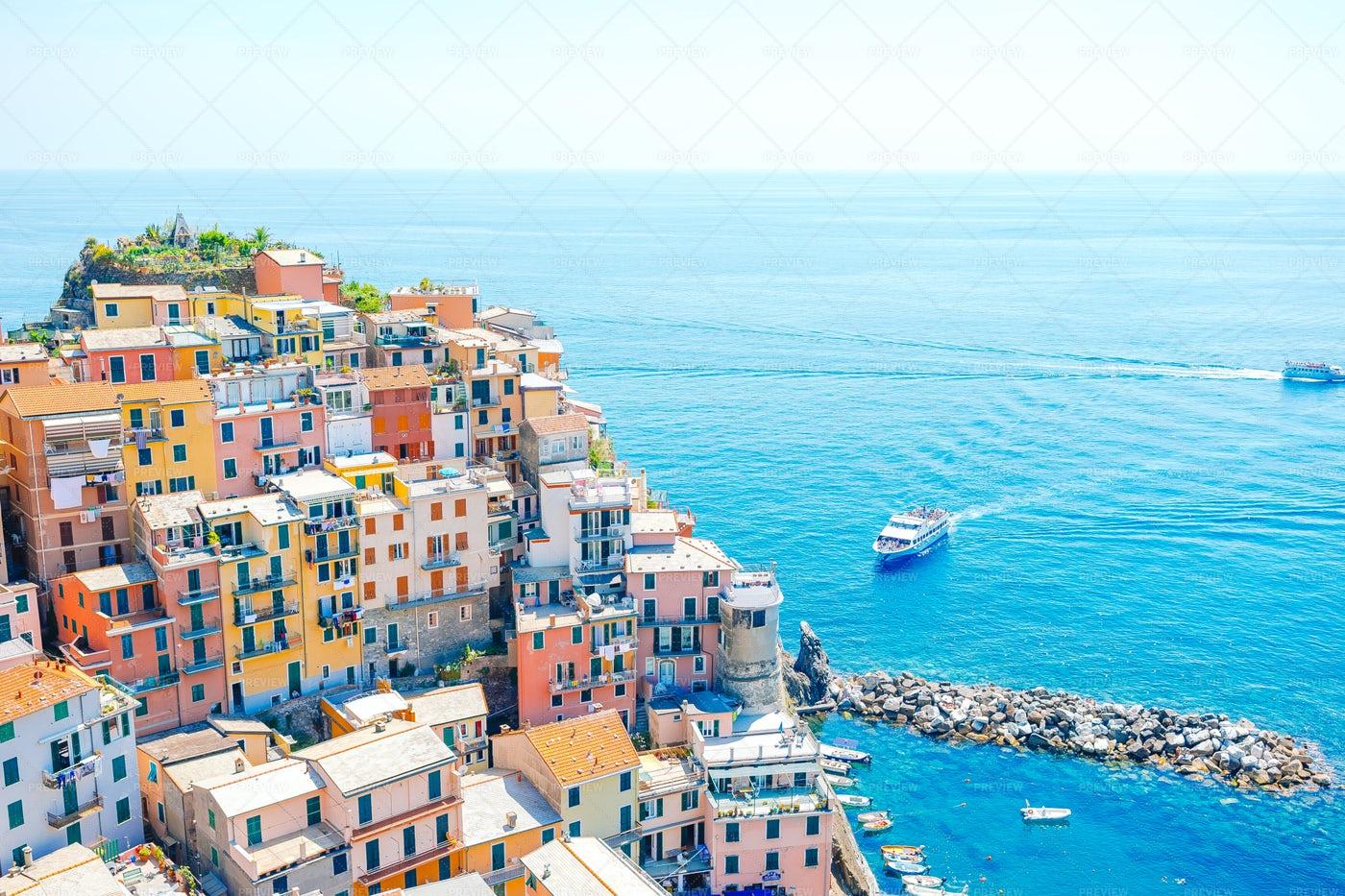 Colorful Village: Stock Photos