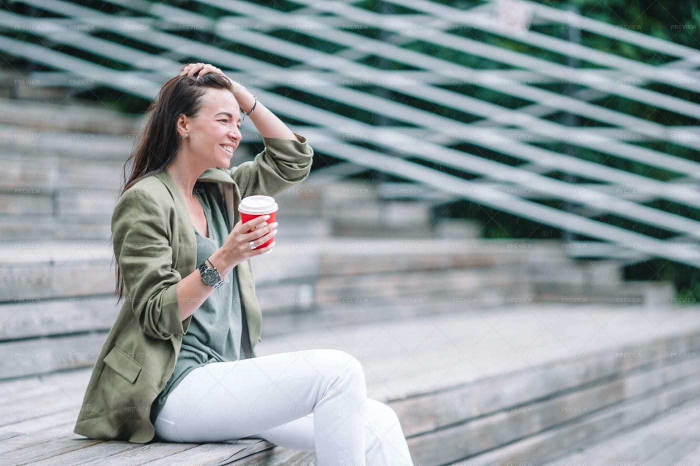Drinking Tasty Coffee: Stock Photos