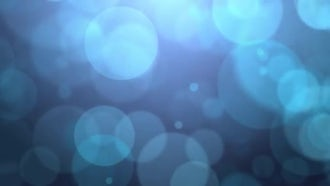 Large Blue Falling Particles: Motion Graphics