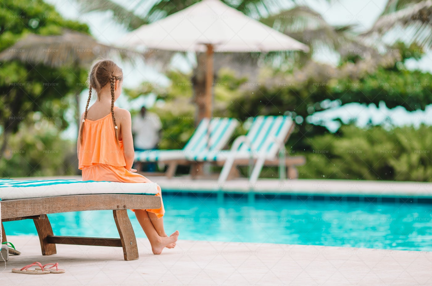 Little Girl In Outdoor: Stock Photos