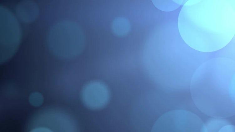Large Light Blue Particles: Motion Graphics