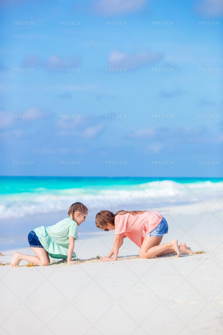 Little Happy Kids Having Fun: Stock Photos