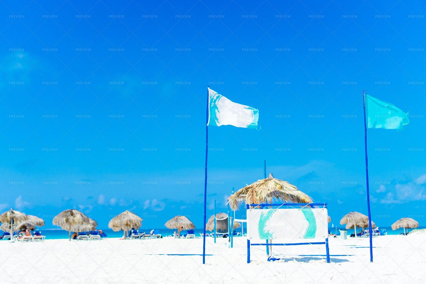 Tropical Beach For Tourist: Stock Photos