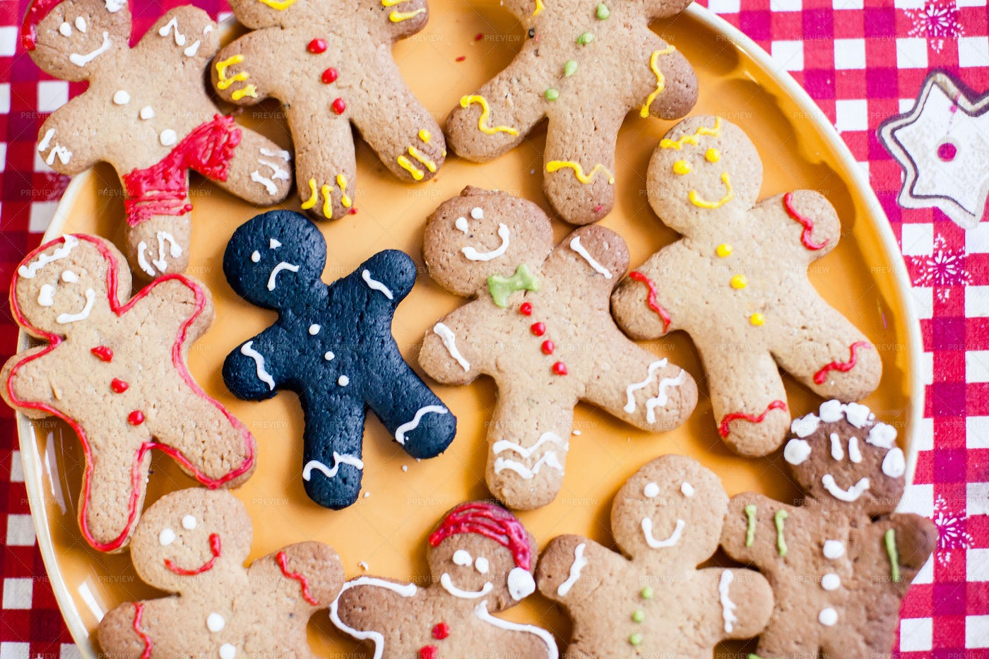 Colorful Gingerbread: Stock Photos