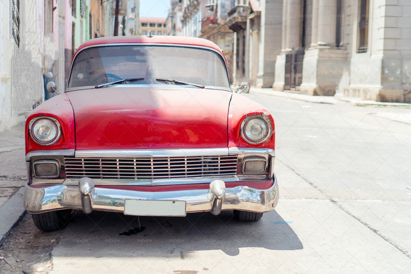 Classic Vintage Car: Stock Photos