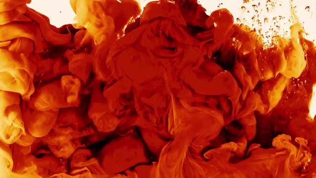 Abstract Ink Red: Stock Video