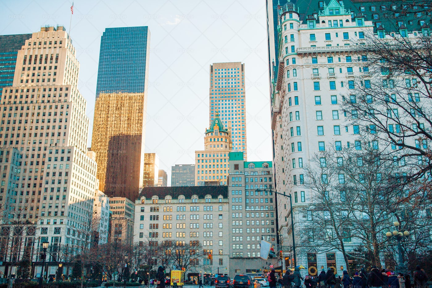 Streets Of New York City: Stock Photos