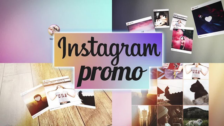 Instagram/Photo Promo: After Effects Templates